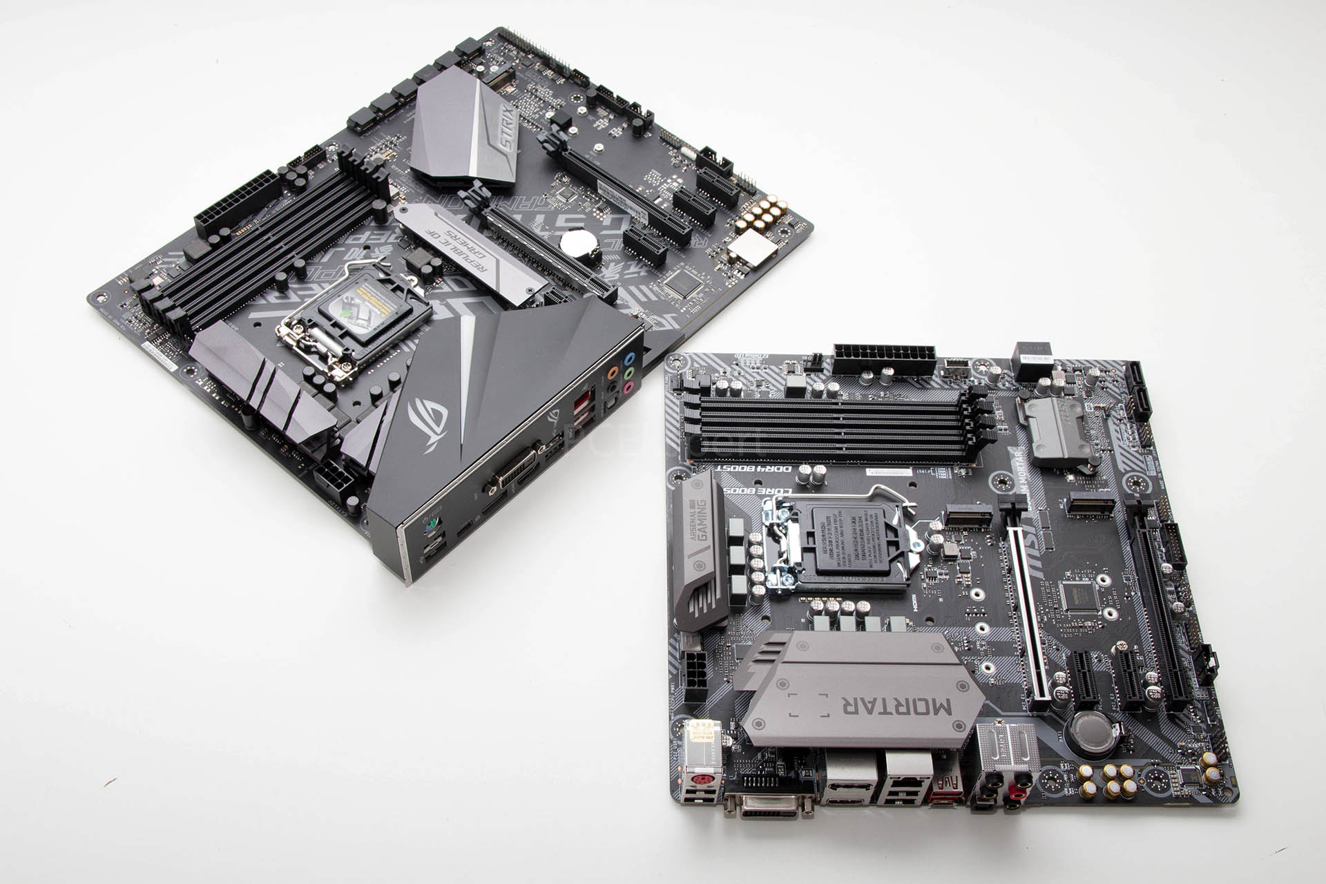 Brzi test – ASUS ROG Strix H370-F Gaming &  MSI B360M Mortar