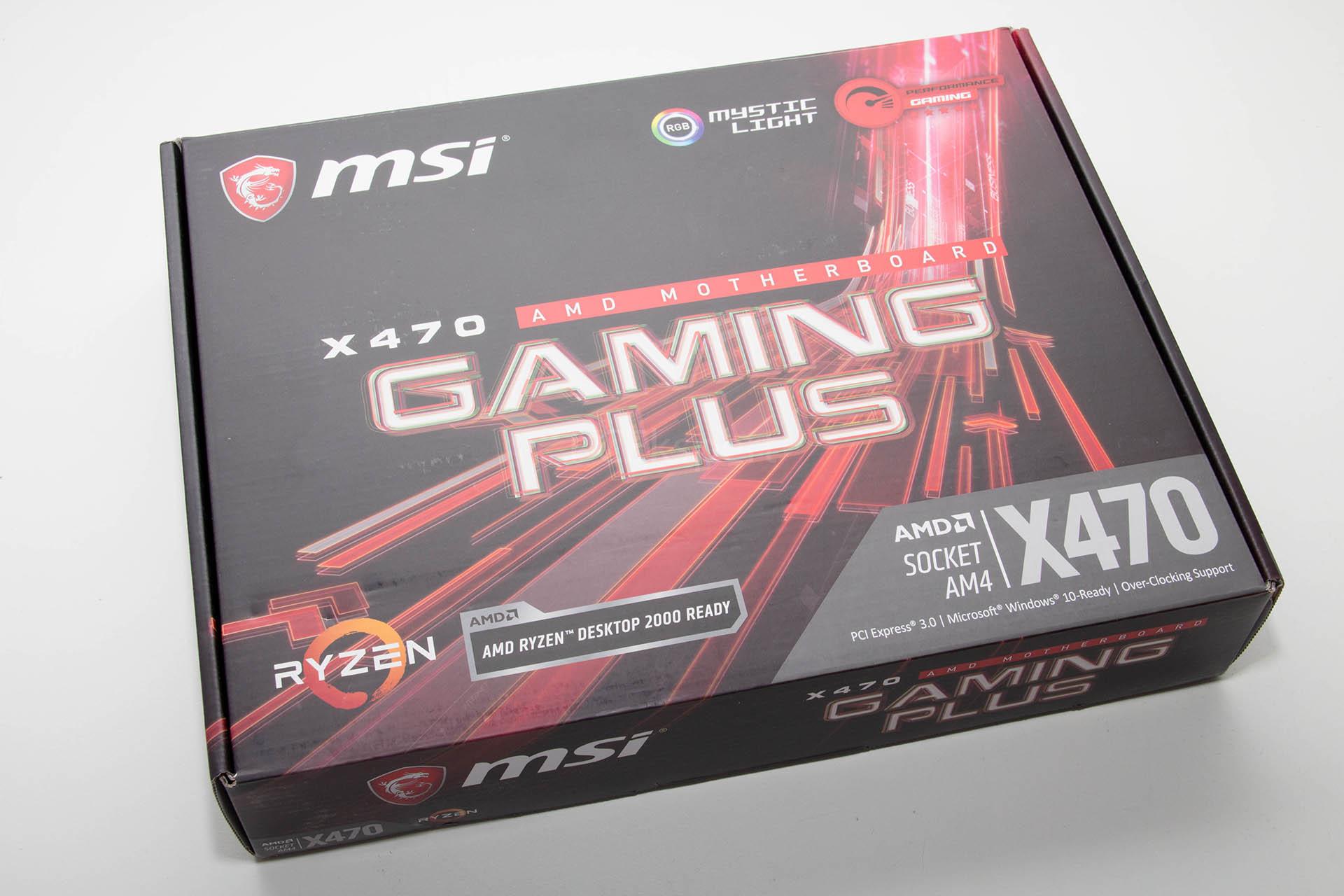 PC Ekspert - Hardware EZine - MSI X470 Gaming Plus recenzija