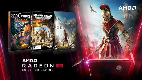 Tri besplatne igre uz odabrane Radeon RX kartice