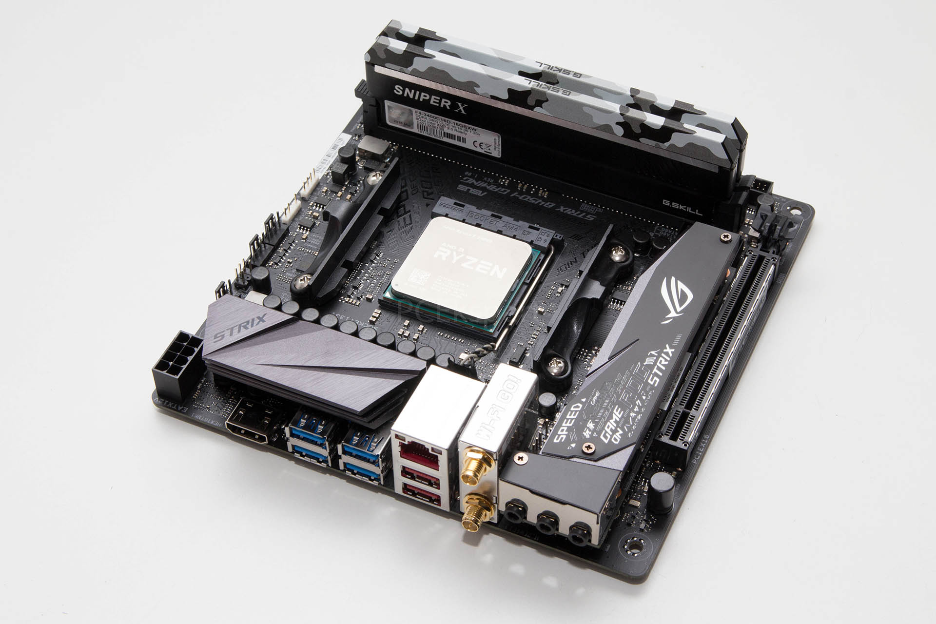 Brzi test – Asus ROG Strix B450-I Gaming