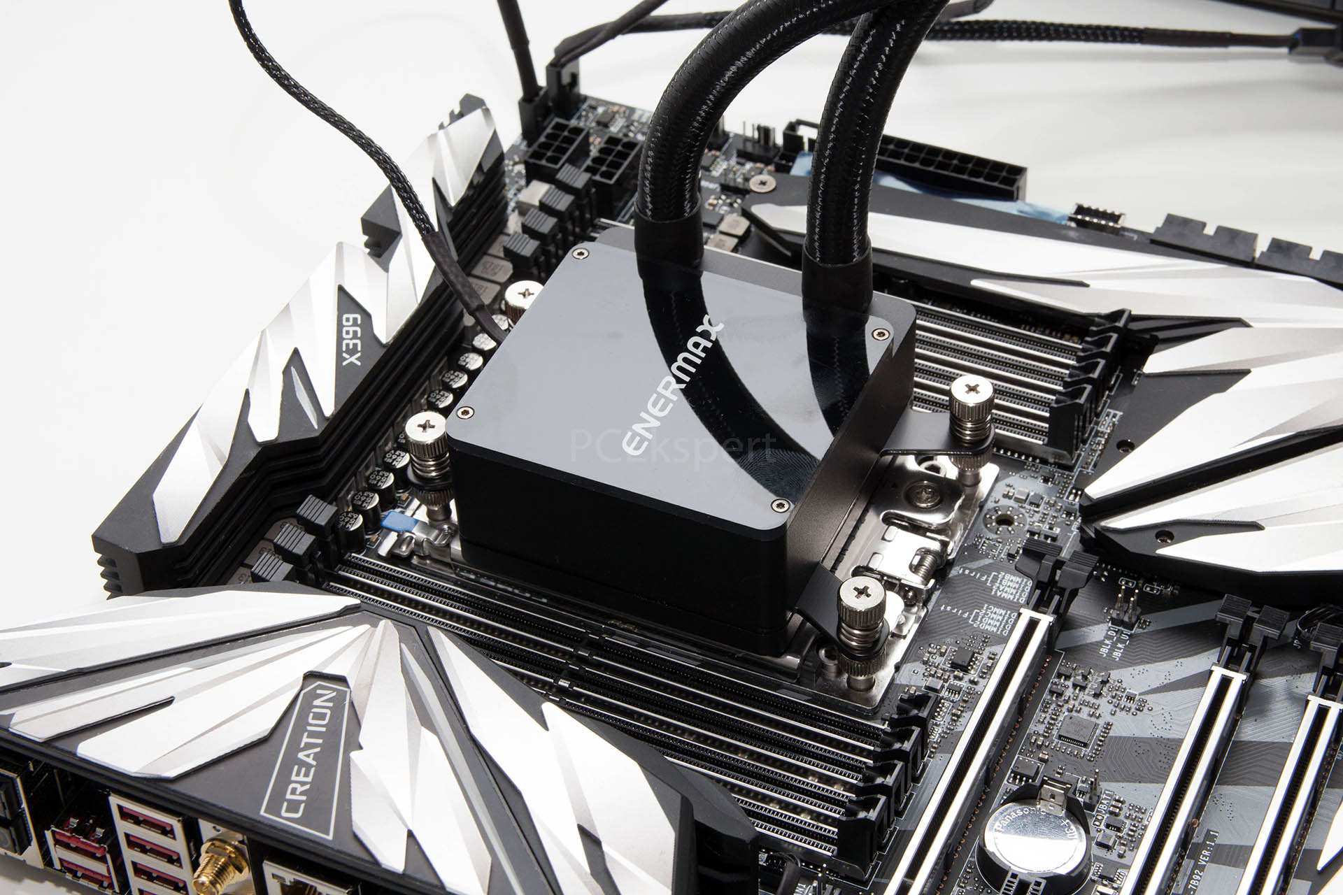 Enermax Liqtech 240 TR4 i overclocking Threadrippera 2