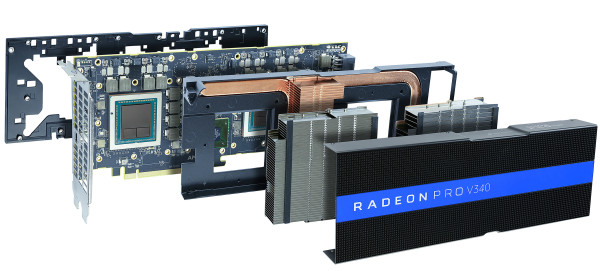 AMD Radeon Pro V340 i MxGPU hardverska virtualizacija u cloudu