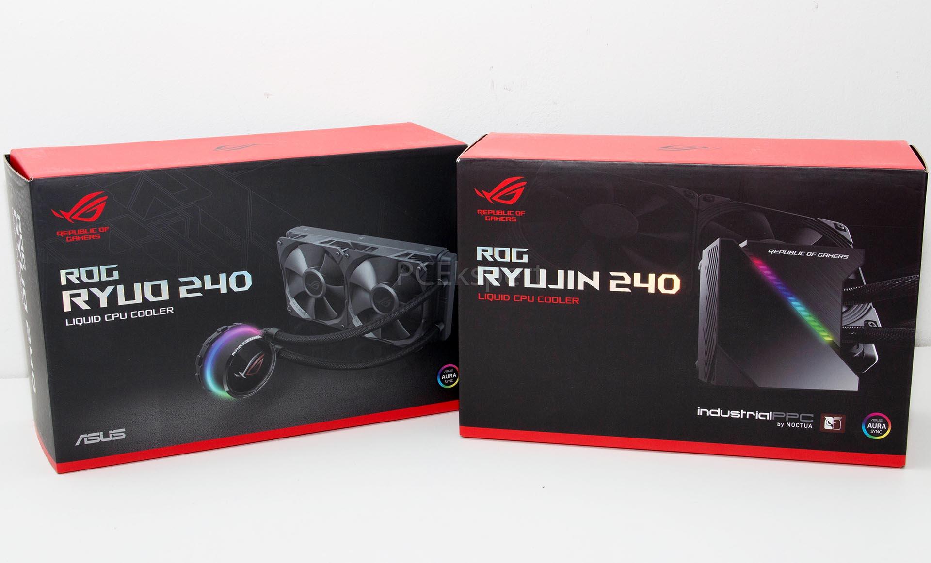 ASUS ROG Strix Ryujin 240 & Ryuo 240 recenzija