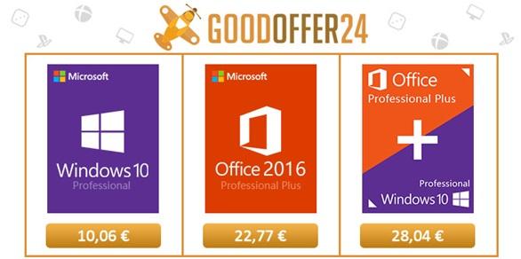 Microsoft Windows 10 Professional za 10 Eura i s besplatnim slanjem!