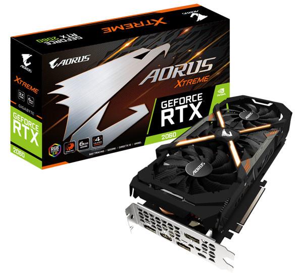 Gigabyte predstavio GeForce RTX 2060 kartice