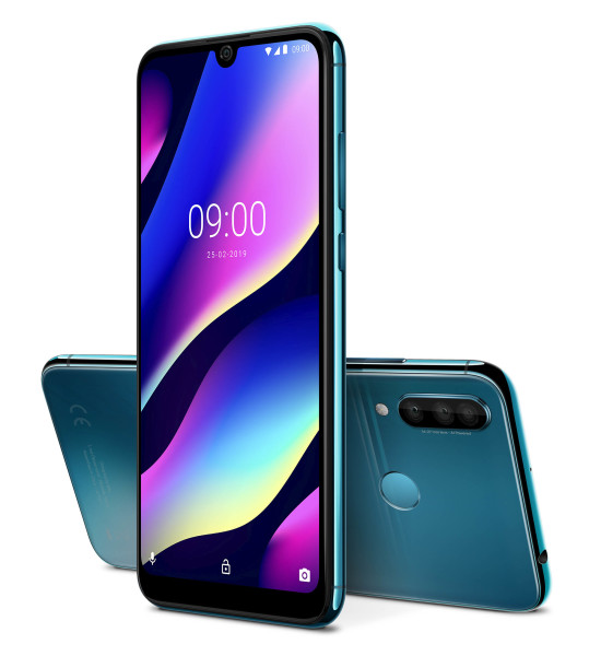 Wiko_MWC2019_View-3_Electro-Bleen
