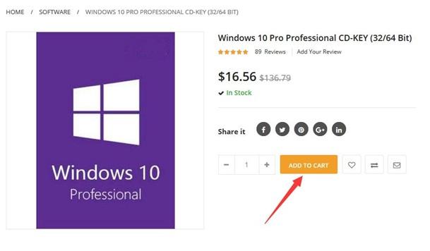 Microsoft Windows 10 Professional ispod 12 € i s besplatnim slanjem!