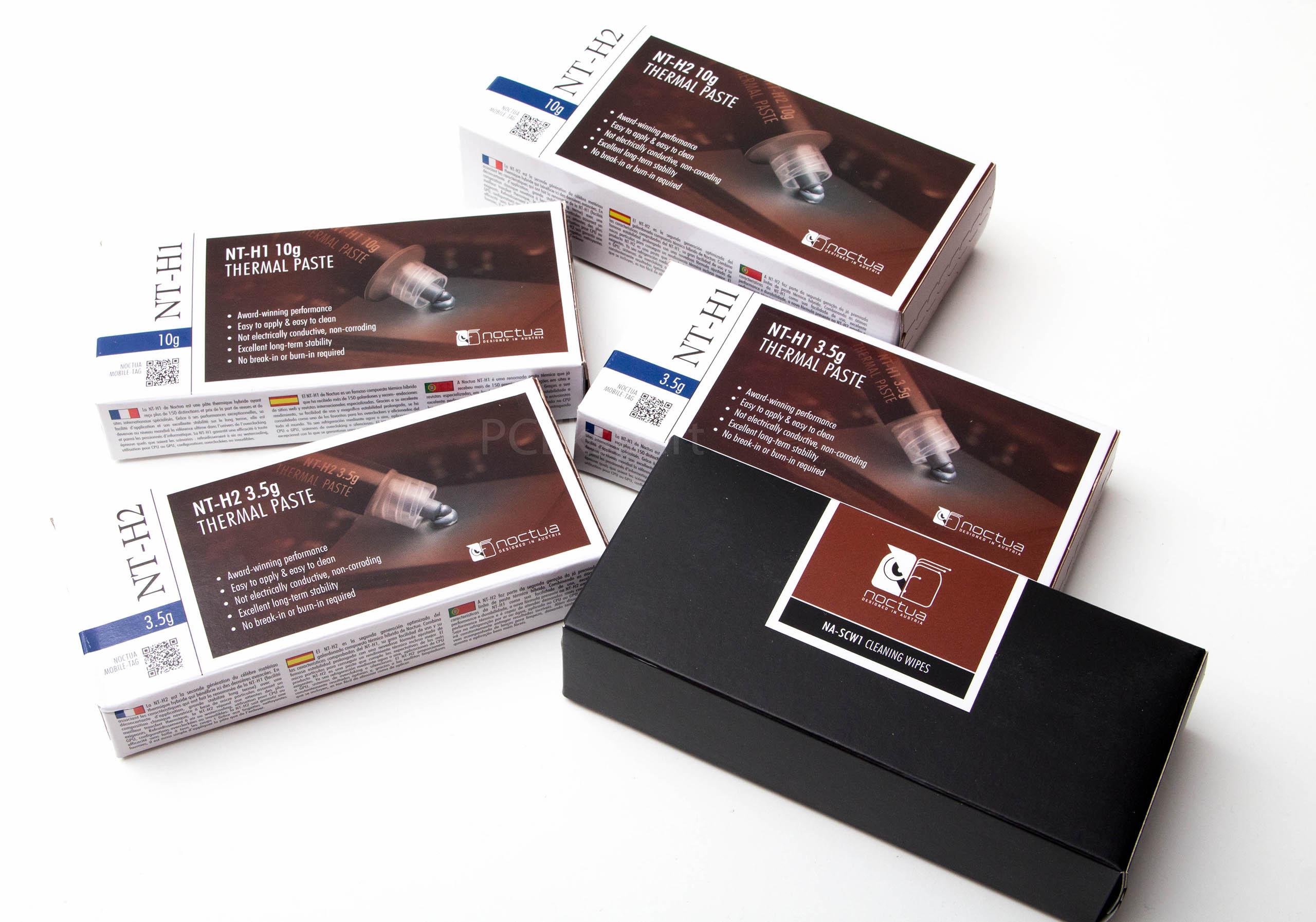 Brzi test – Noctua NT-H2 pasta i NA-SCW1 maramice