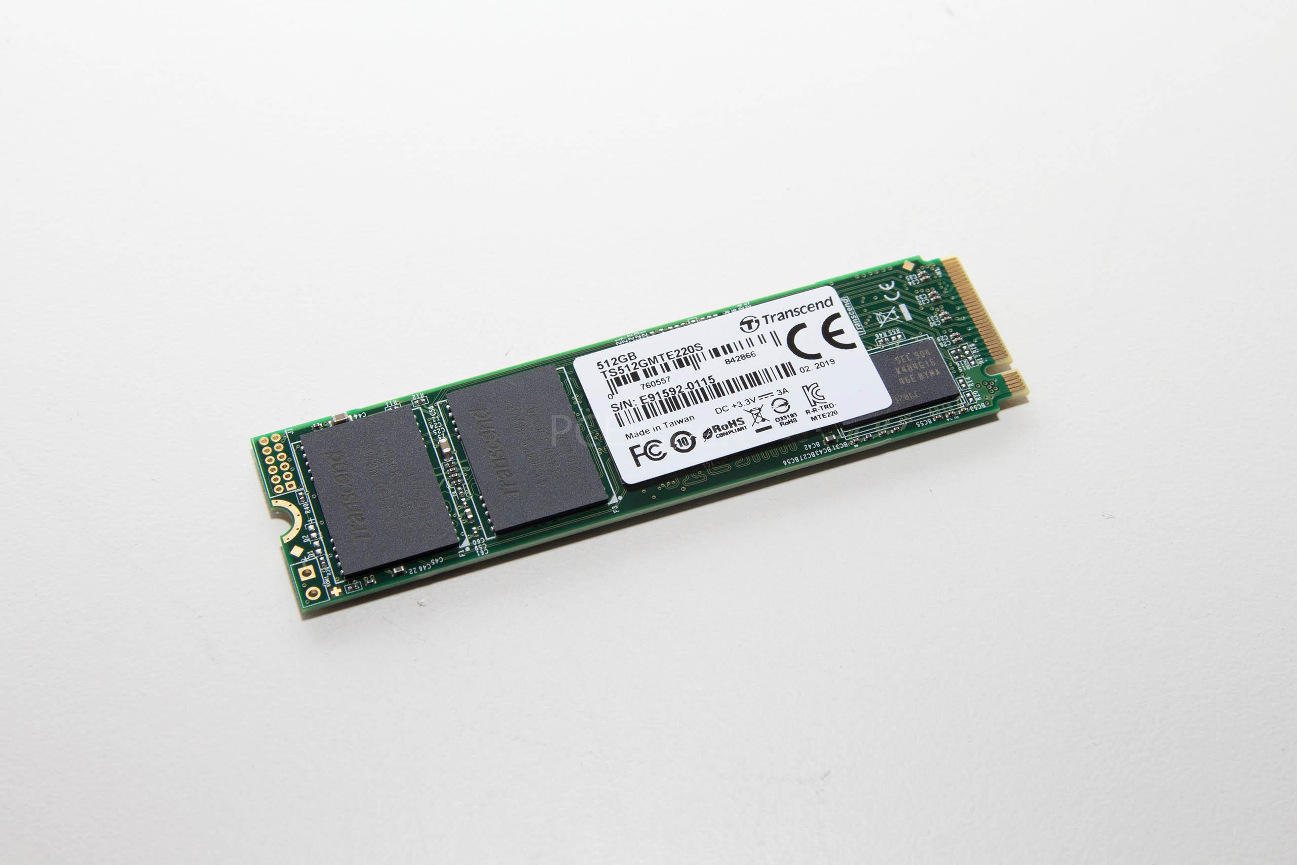 Transcend PCIe SSD 220S 512GB recenzija