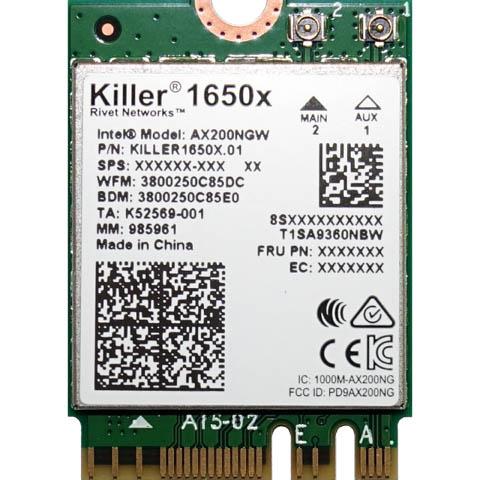 Killer AX1650 – WiFi za odlikaše