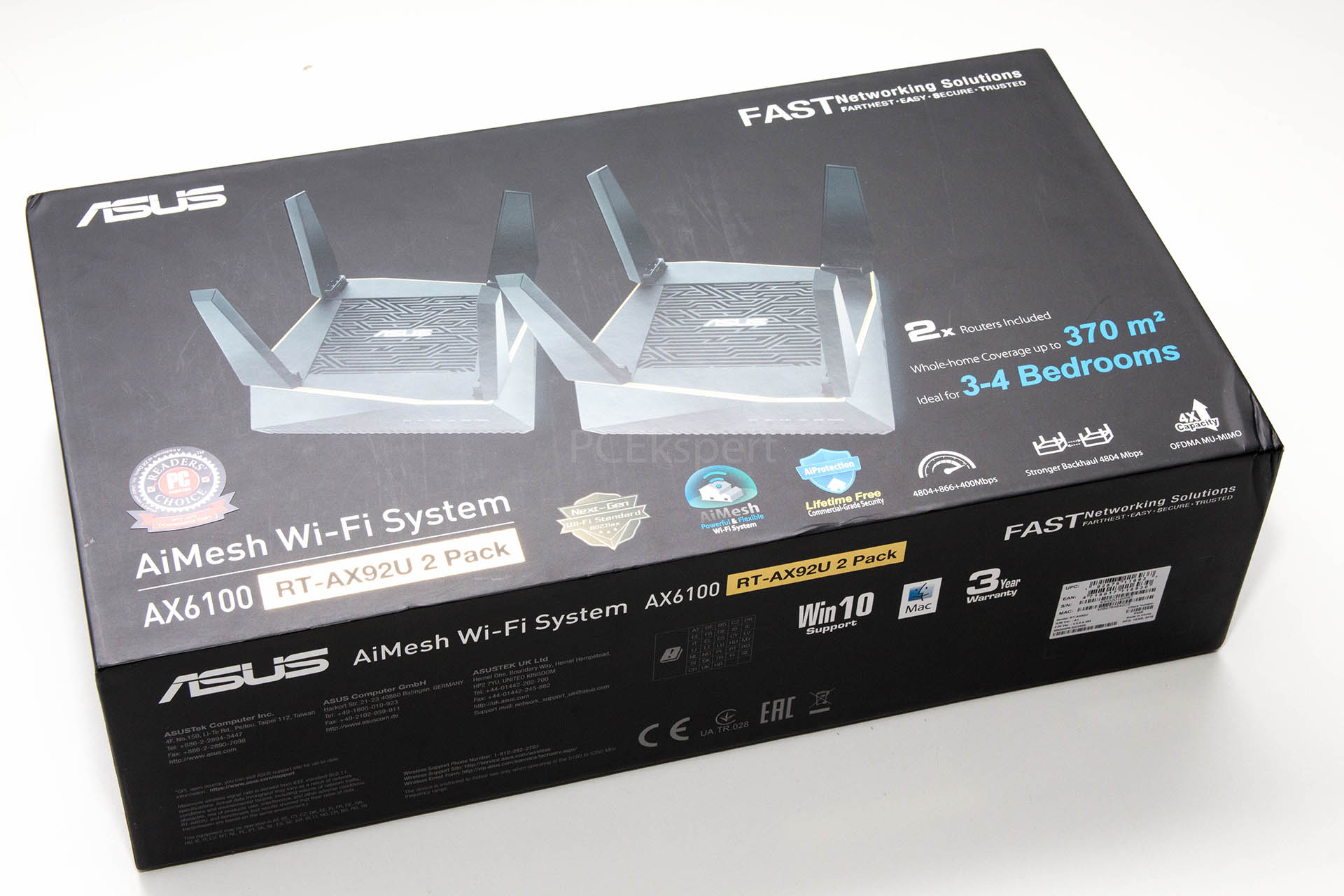 PC Ekspert - Hardware EZine - Brzi test – ASUS AX6100 RT