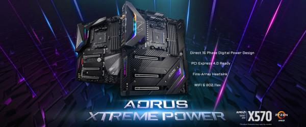 Gigabyte napreduje na PCIe 4.0 s X570 Aorus matičnim pločama