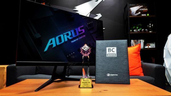 AORUS AD27QD osvojio Computex BC nagradu za najbolji dizajn