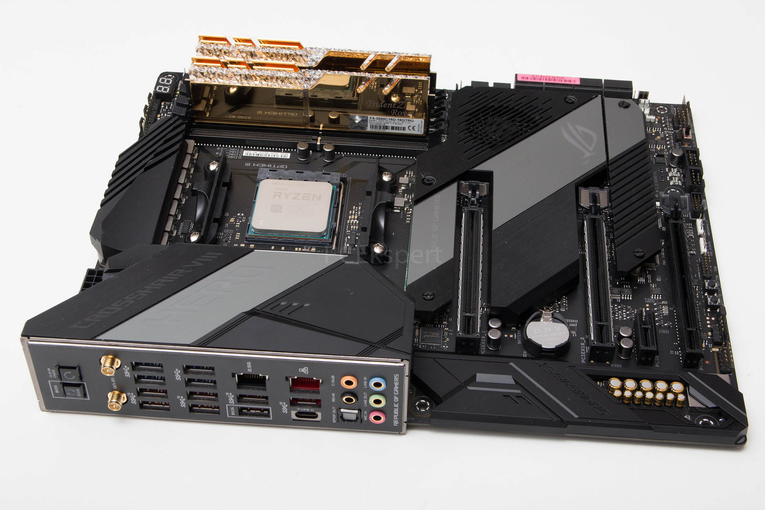 ASUS ROG Crosshair VIII Hero WiFi & Strix X570-E Gaming recenzija
