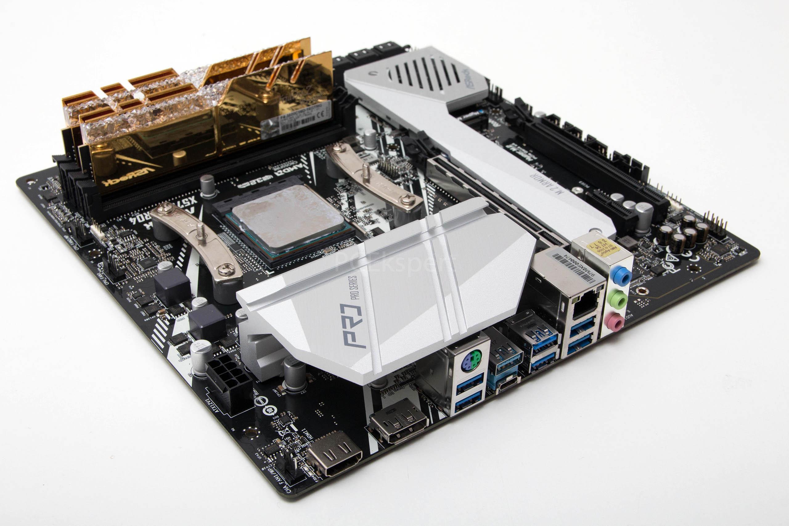 ASRock X570M PRO4 recenzija