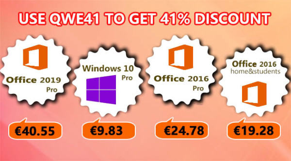 Jeftini ključevi za softver – Windows 10 Pro za 9,80 €, Office 2016 Pro za 24,78 € i Office 2019 Pro za 40,55 €