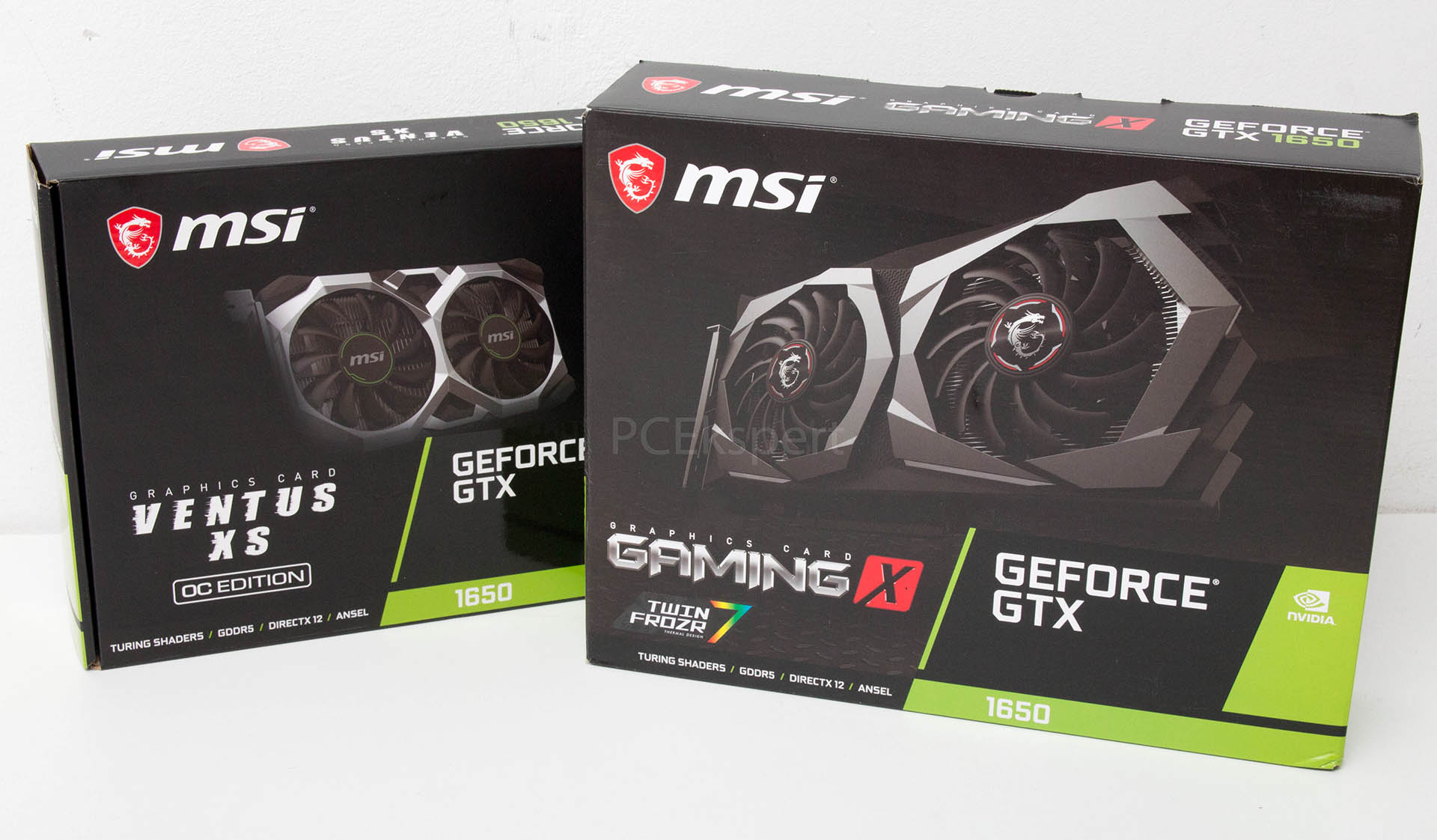MSI GeForce GTX 1650 Gaming X & Ventus XS OC recenzija