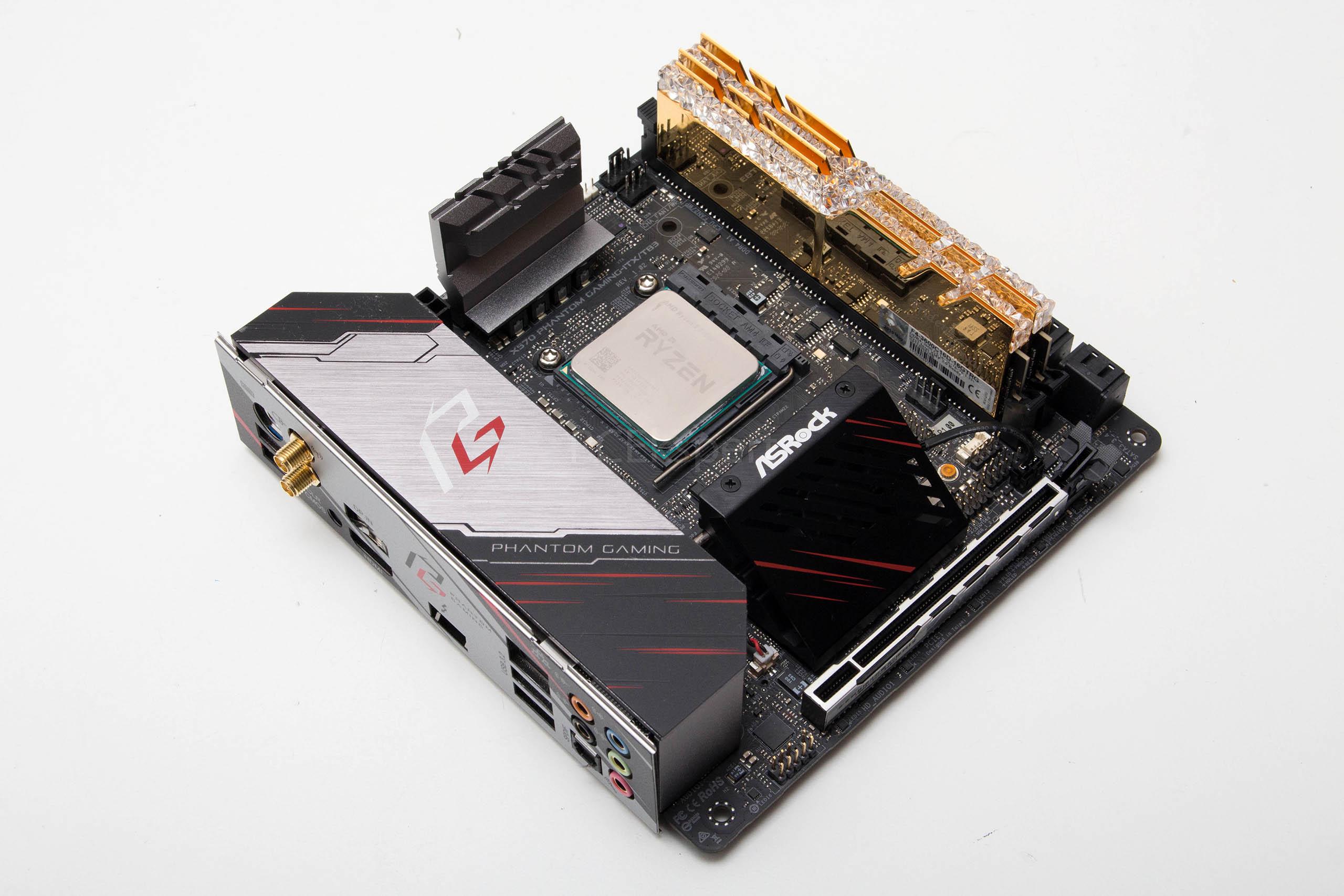 ASRock X570 Phantom Gaming-ITX/TB3 recenzija