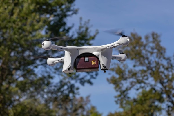UPS – dostava dronovima
