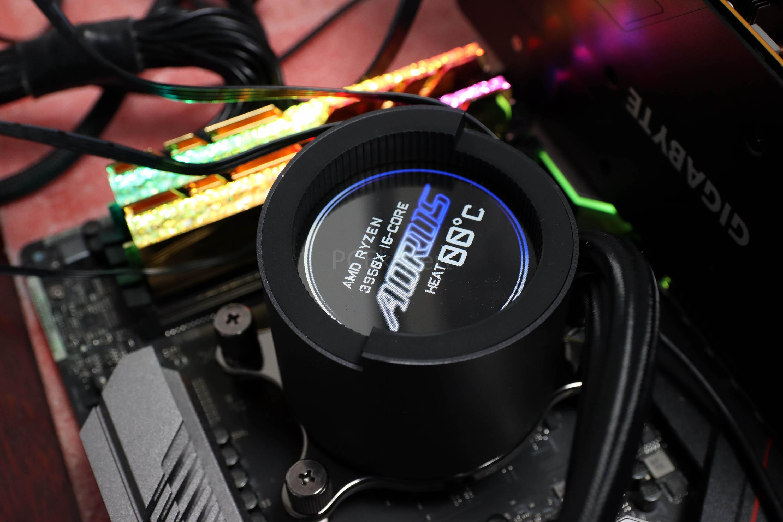 Gigabyte Aorus Liquid Cooler 280 recenzija