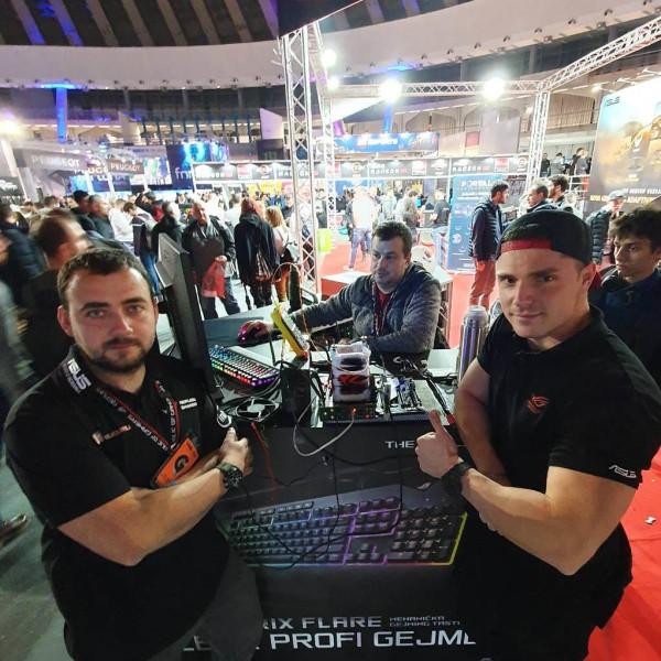 ASUS overclockeri oborili 3 svjetska rekorda u Beogradu