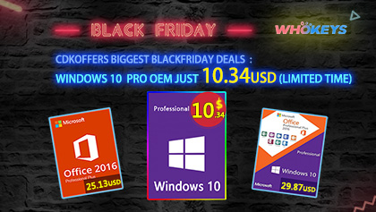 Windowsi 10 Pro ispod 11 USD i popusti do 25% na Office 2019 na Whokeysu za Black Friday