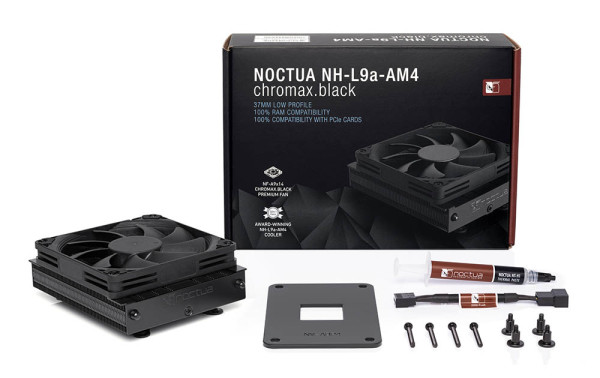 Noctua NH-L9a-AM4 chromax.black
