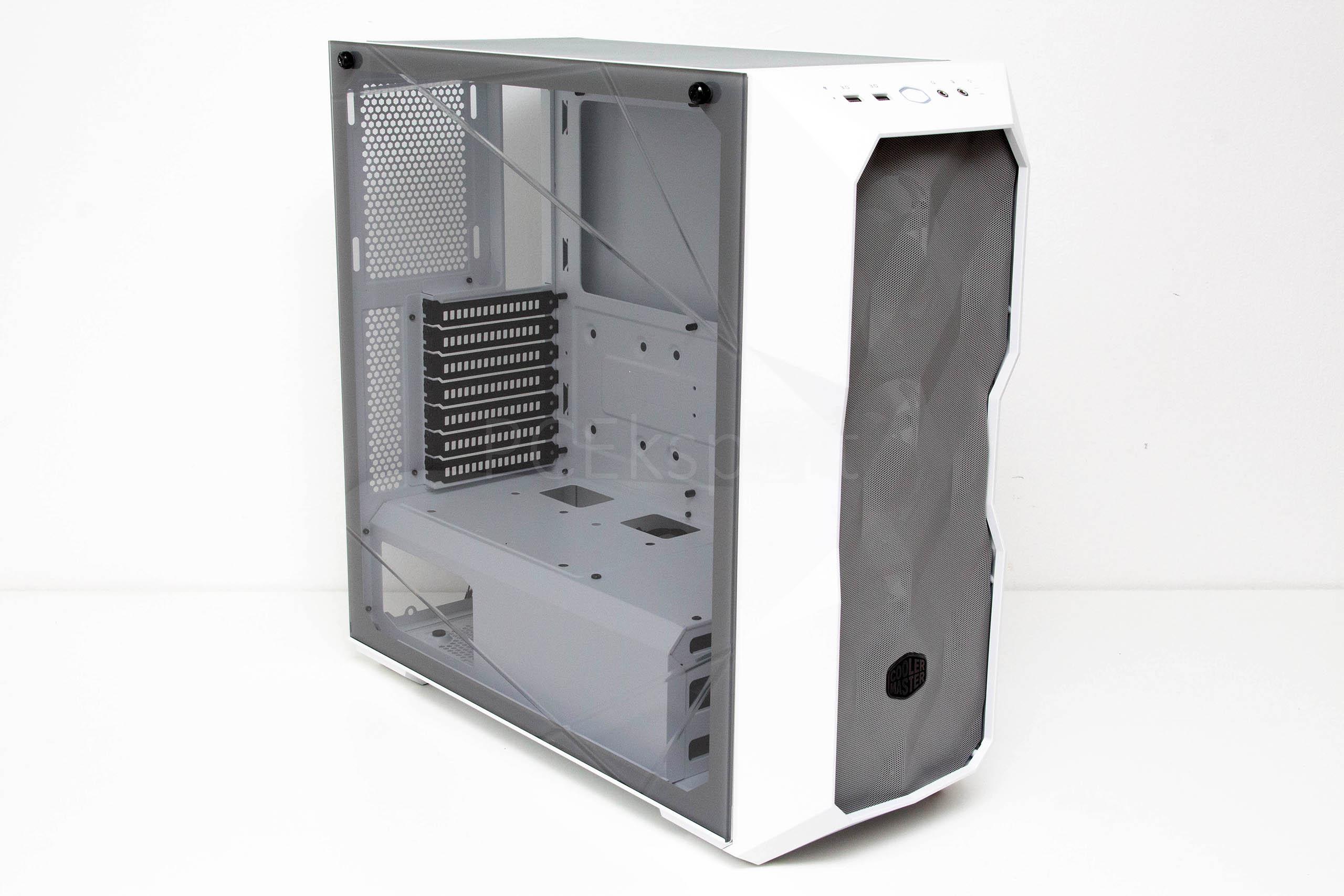 Cooler Master Masterbox TD500 Mesh White recenzija
