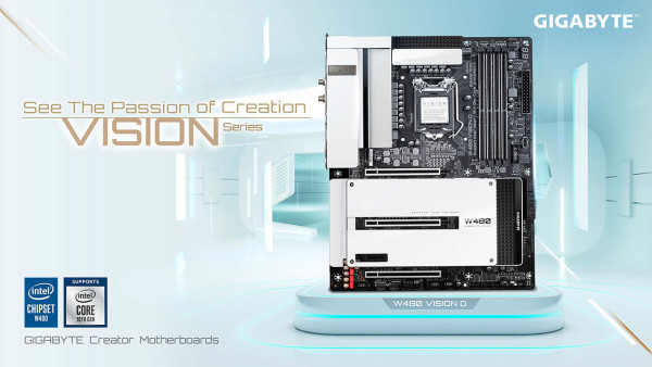Gigabyte W480 matične ploče, podržavaju Xeon W-1200 serijski procesor