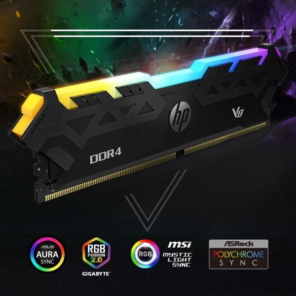 HP otkrio DDR4 memoriju serije V8 RGB