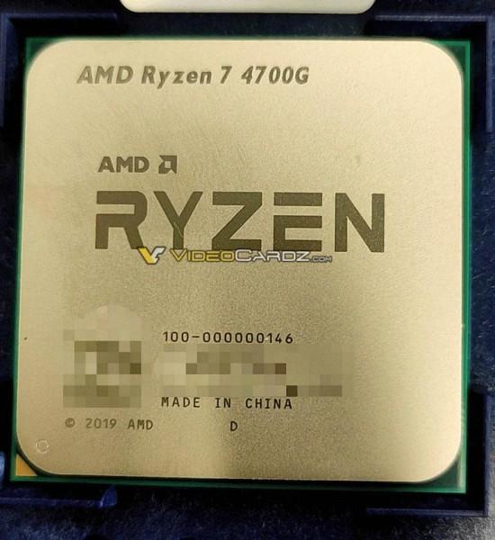 Osvanula slika Ryzena 7 4700G, osmojezgrenog APU-a