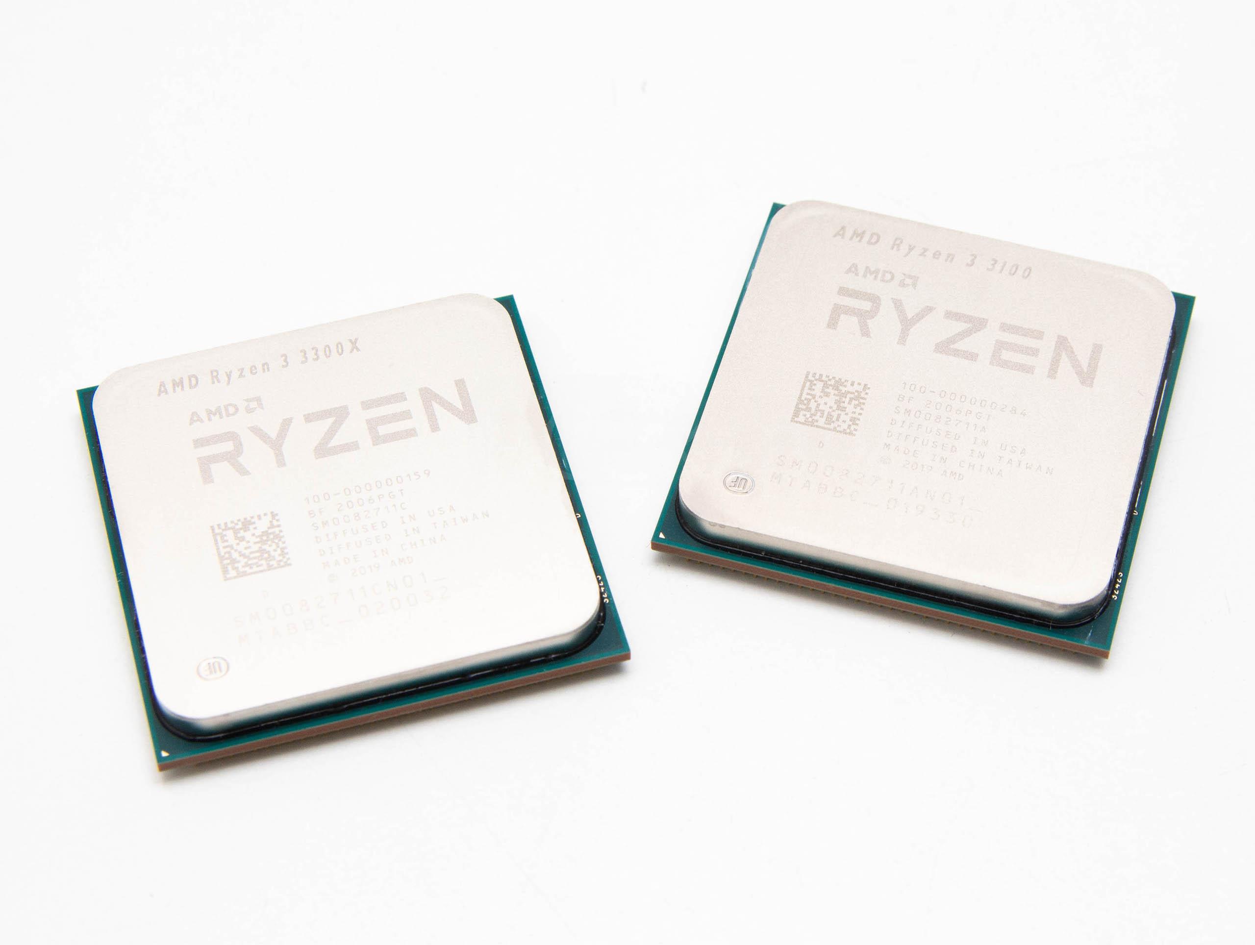 AMD Ryzen 3 3100 & 3300X recenzija
