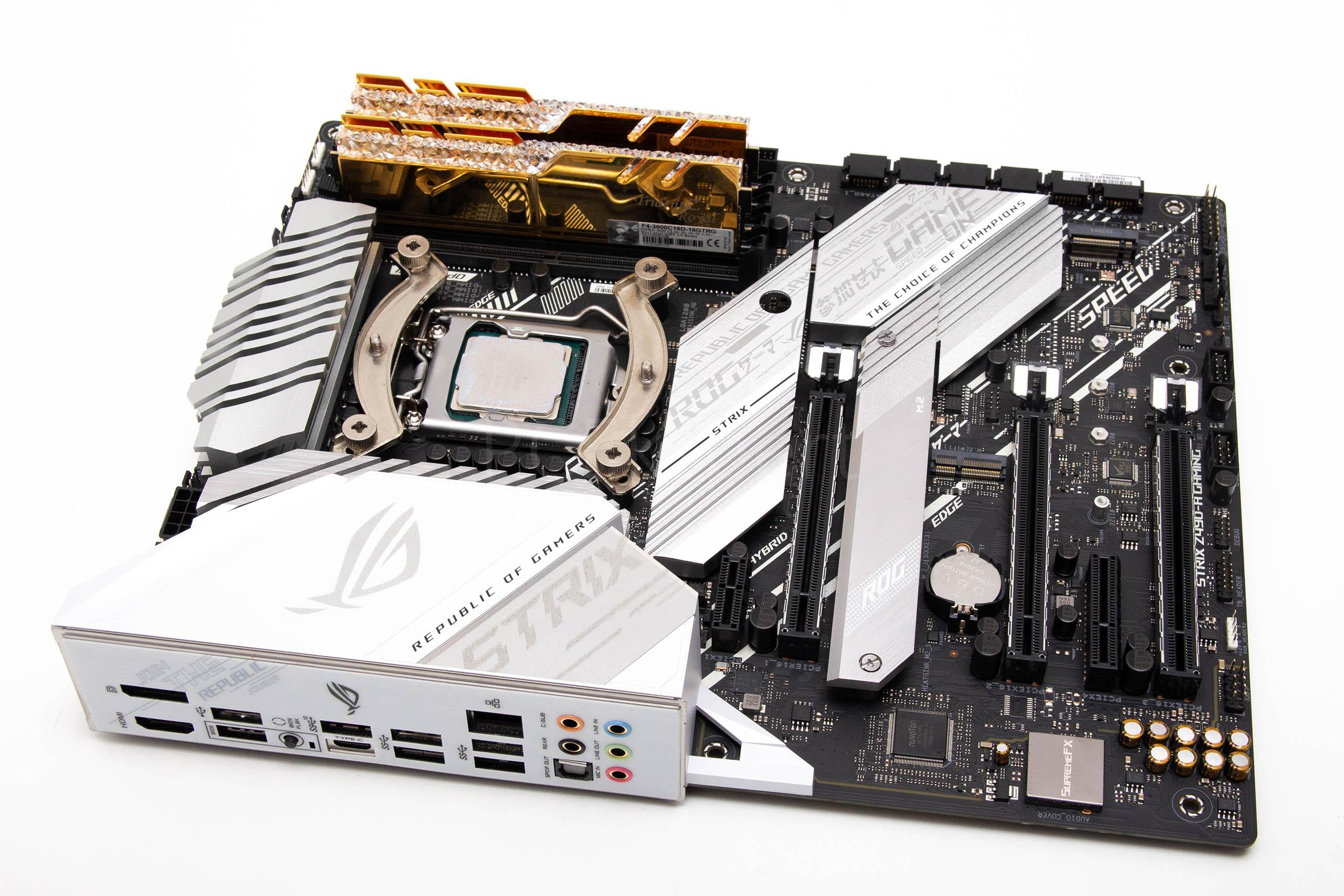 ASUS STRIX Z490-A Gaming recenzija