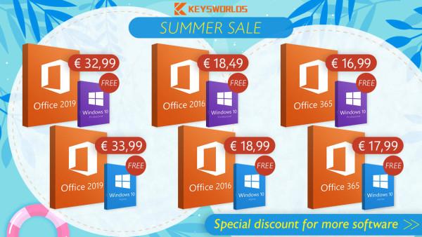 Ljetna promocija: Besplatni Windowsi, ne propustite priliku!