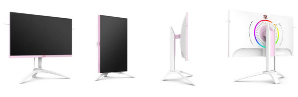 Jeste li spremni za AOC AG273FXR gaming monitor u ružičastoj boji?