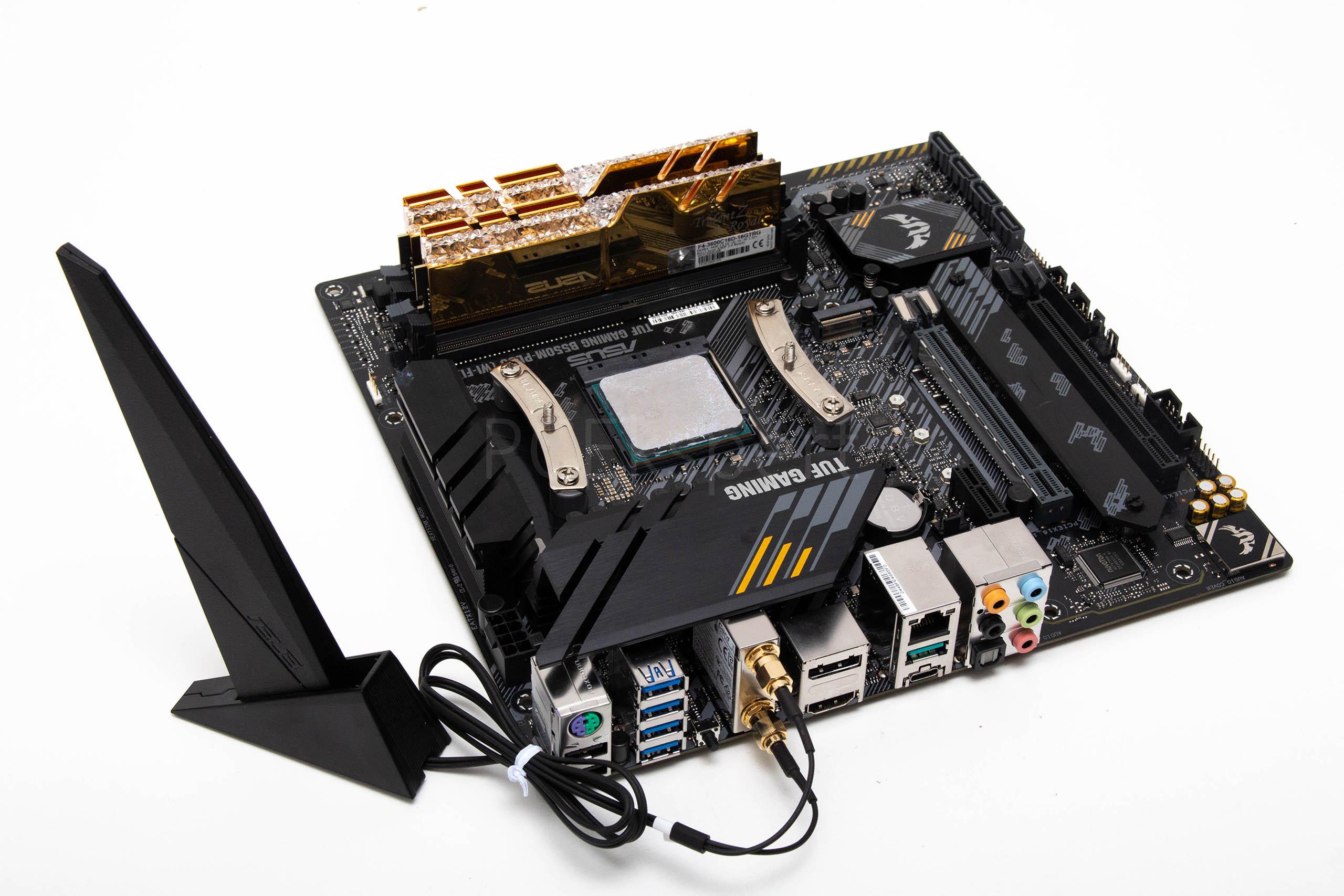 ASUS TUF Gaming B550M-Plus (Wi-Fi) recenzija