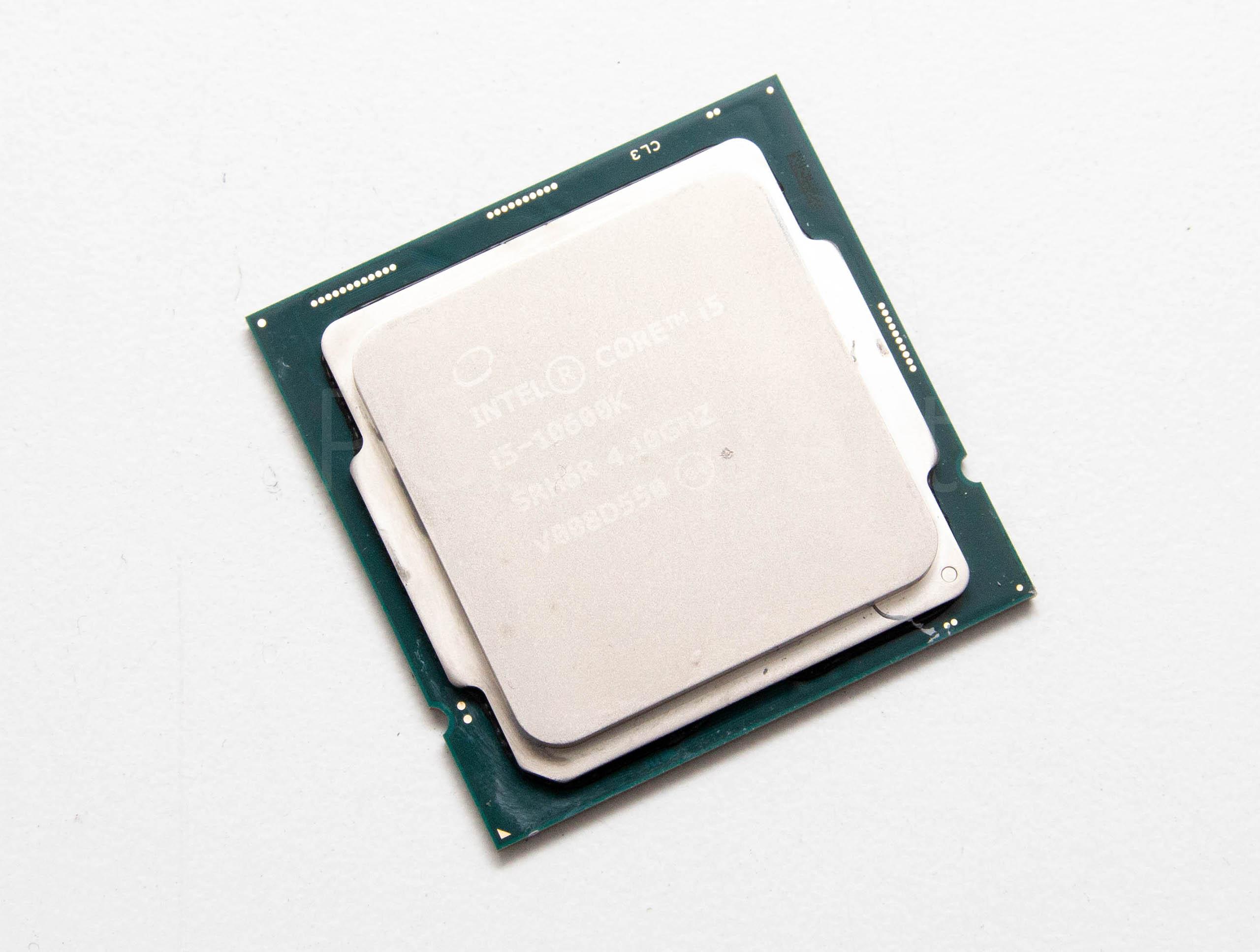 Intel Core i5-10600K recenzija