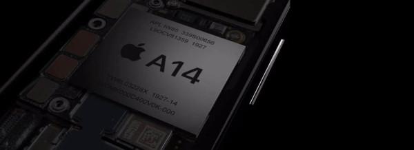 Apple A14 aplikativni procesor u živoj fotografiji
