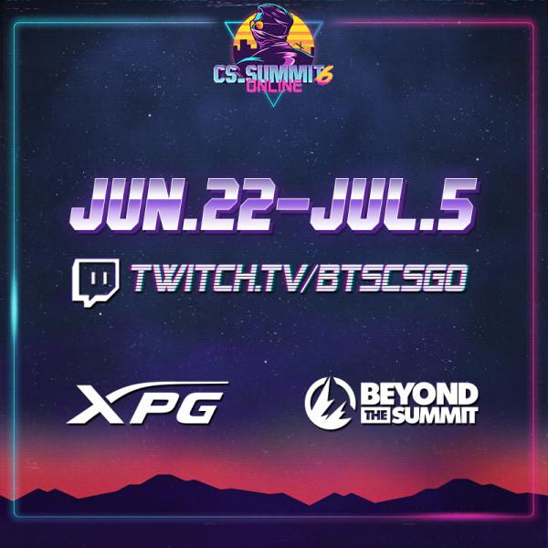 XPG postaje službeni sponzor turnira CS_SUMMIT 6