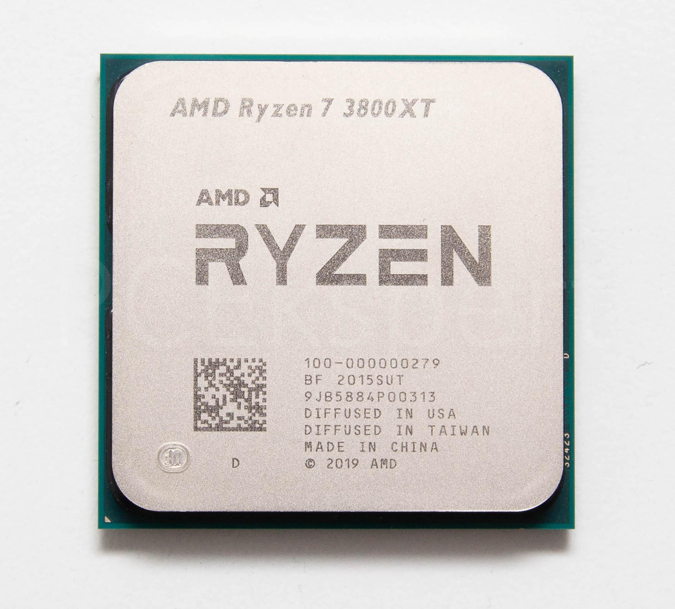 AMD Ryzen 7 3800XT recenzija
