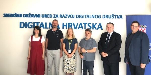 Održan sastanak s Udrugom slijepih Sisačko-moslavačke županije – Sisak na temu digitalne pristupačnosti