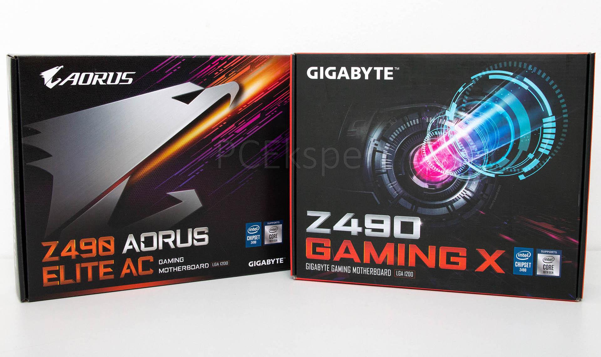 Prvi pogled - Gigaybte Z490 Aorus Elite AC & Gaming X