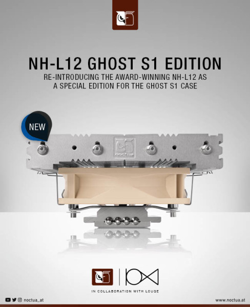 Louqe i Noctua predstavili specijalno izdanje NH-L12 hladnjaka