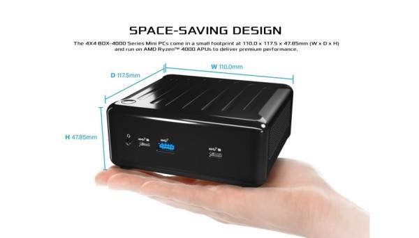 ASRock lansirao 4X4 BOX-4000 mini računalo s Ryzen 4000U APU-ima