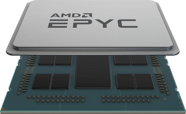 Chip Shot: 2nd Gen AMD EPYC™ processor (top)