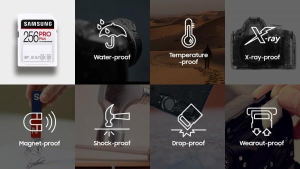 Samsung Pro Plus, Evo Plus SD kartice mogu preživjeti slanu vodu_2