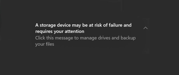 Windows 10 pomaže nam znati je li SSD oštećen ili radi kao urica