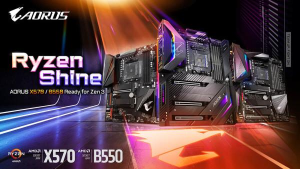 Gigabyte izbacio BIOS nadogradnje za podršku Ryzen 5000 procesporima