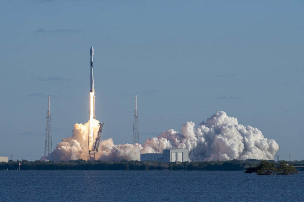 Raketa Falcon 9 lansira prvi satelit GPS III, prosinac 2018.