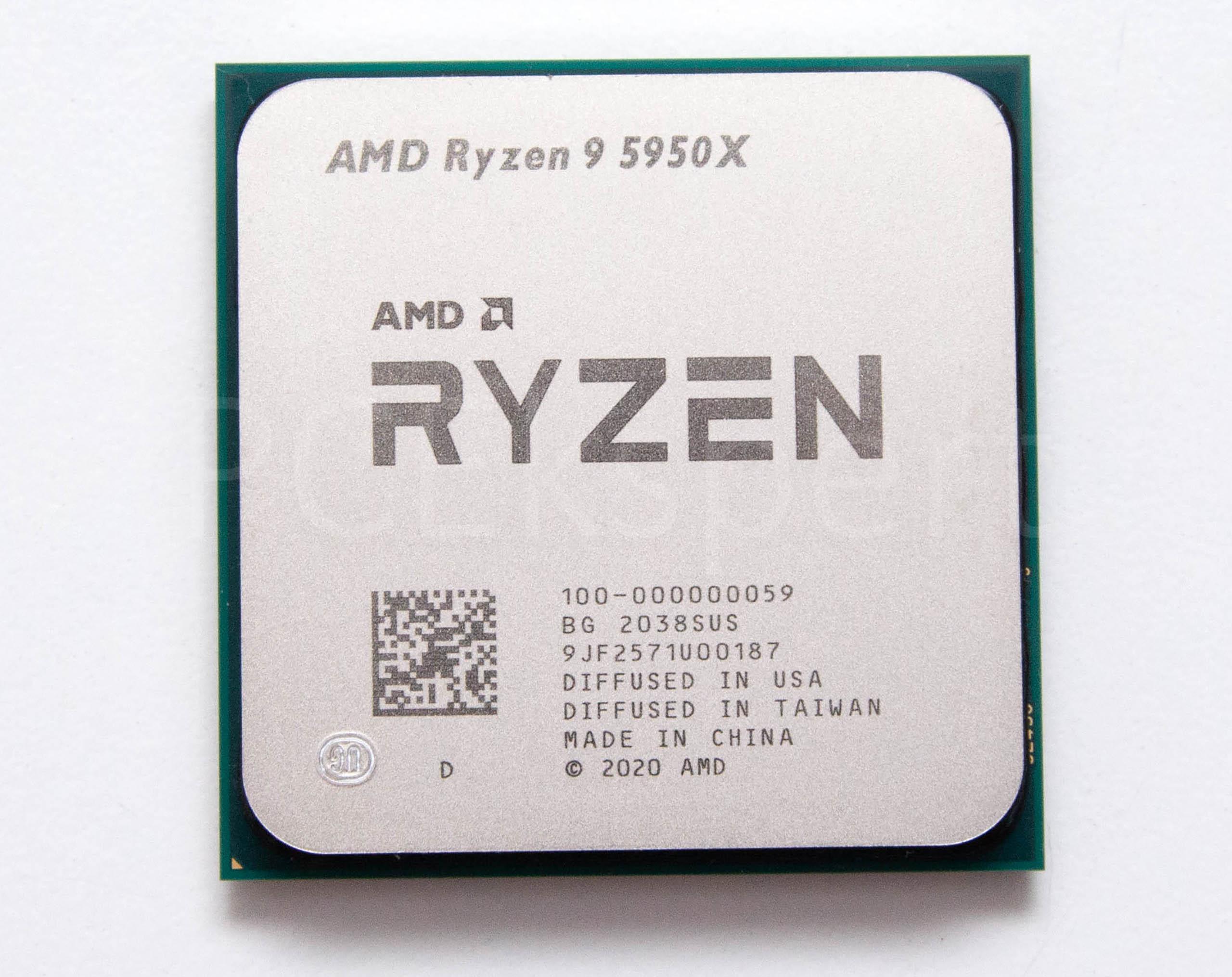 AMD Ryzen 9 5950X, 5900X & Ryzen 7 5800X recenzija